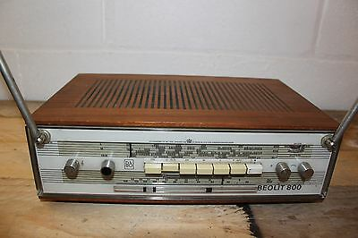 Fully Functional Bang & Olufsen Beolit 800 Battery Powered Portable Radio. c1970
