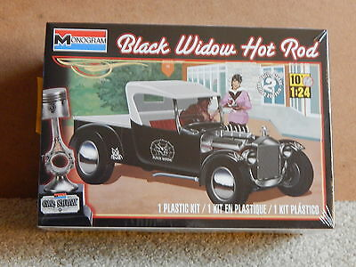 Monogram Black Widow Hot Rod ~ 1/24 scale Model Kit