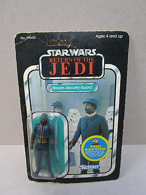 1983 Vintage Star Wars Return Of The Jedi : Bespin Security Guard Sealed.