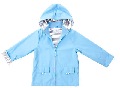 New Felix Kids 100% Waterproof Raincoat Boys/girls Light Blue