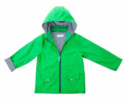 New Jasper Kids 100% Waterproof Raincoat Boys/girls Green