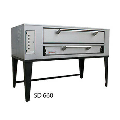 Marsal SD-1060 Gas Deck Type Pizza Oven