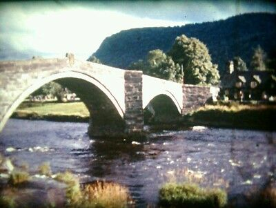 1974: CONWY, CHESTER & CHATSWORTH Std 8mm Amateur Cine Film