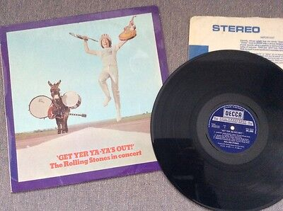 The Rolling Stones - 'Get Yer Ya-Ya's Out!' - Vinyl LP (1970 English Pressing)