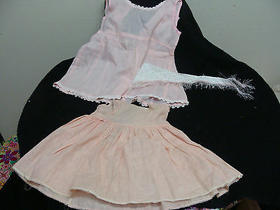 Vintage Baby  Doll Dress lot of two 6-12 mos