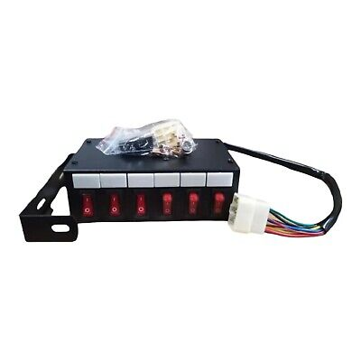 5 way Switch Box 12/24v Lightbar Beacon Flashing LED Strobe Light Recovery Truck