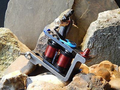 Custom Tattoo Machine Steel Shader -No1 -Used Spare Parts-Frame-Coils-Ink
