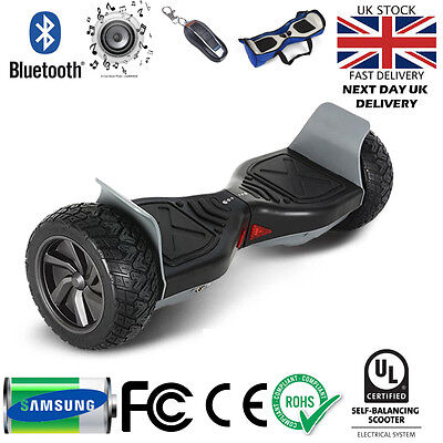 """Hoverboard 8.5"""" Off Road All Terrain Swegway Self Balancing Board Scooter Hummer"""