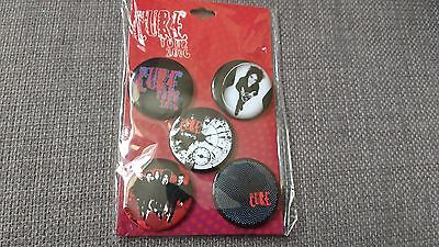 The Cure Tour 2016 Badge pack-still sealed.