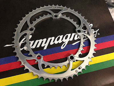 Campagnolo RECORD C10 53/39 Kettenblatt / Chainring set BCD-135mm used-no crash