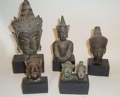 AYUTTHAYA PERIOD THAI BRONZE BUDDHA SHAKYAMUNI ARTIFACTS 16th-18th CENTURY
