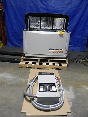 Generac 8KW Air-Cooled Liquid Propane/Natural Gas Powered Standby Generator