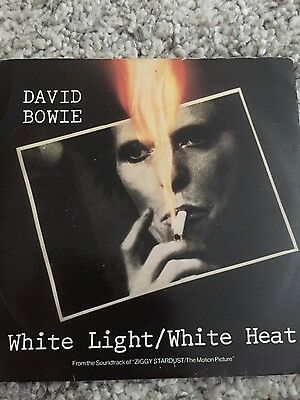 "David Bowie White Light/White Heat 7"" single"
