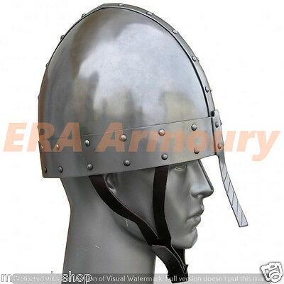 Medieval Nasal Engraved Norman Armour Helmet SCA/LARP/REENECTMENT COSTUME