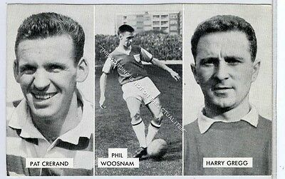 (Ga5591-410) THOMSON, CUP TIE STARS OF ALL NATIONS, Harry Gregg etc. 1962 VG