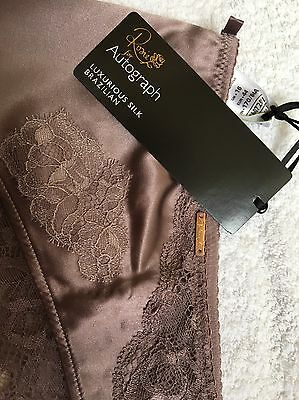 M&S Ladies Size 16 Knickers, Rosie For Autograph, Part Silk Knickers