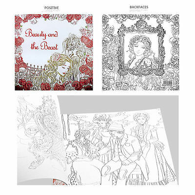 Baby Young Adults Secret Garden An Inky Treasure Hunt Coloring Painting Books