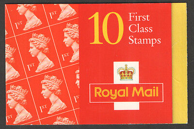 HD44a / DB17(44) Cyl W1 9mm Left Band Walsall 10 x 1st Class Booklet