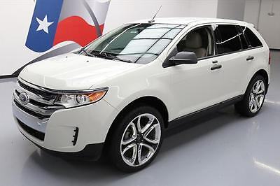 "2013 Ford Edge SE Sport Utility 4-Door 2013 FORD EDGE SE SYNC PARK ASSIST 22"" WHEELS 42K MILES #A36875 Texas Direct"