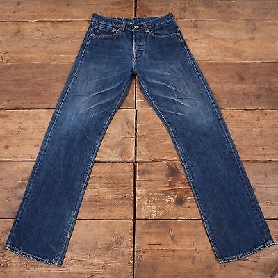 "Mens Levis LVC 1955-62 501 XX Big E Selvedge Denim Jeans 30"" X 33"" R4997"