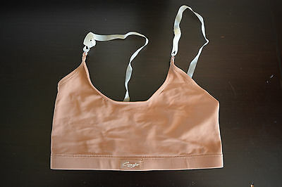Capezio Pull on Bra w/ Adjustable Straps in Nude Adult Large