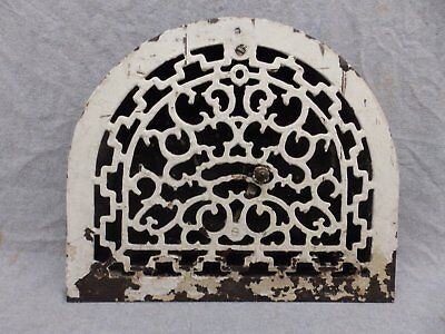 Antique Cast Iron Arch Top Dome Heat Grate Wall Register 11x13 205-17R