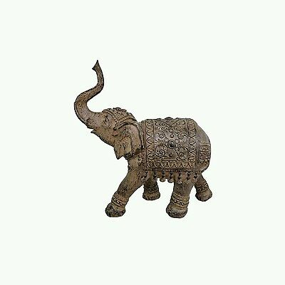 Large Bronze Elephant Ornament Figurine Statue Sculpture Home Decor Gift New