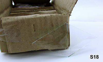 """Stained Glass Supplies 2 1/4"""" x 4"""" Diamond Bevels Bx of 21 Crystal Clear S18"""