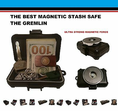 Magnetic Stash Safe Box Secret Case Diversion Hidden Home Can Hide Security Car