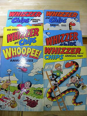 Whizzer and Chips + whoopee Annuals