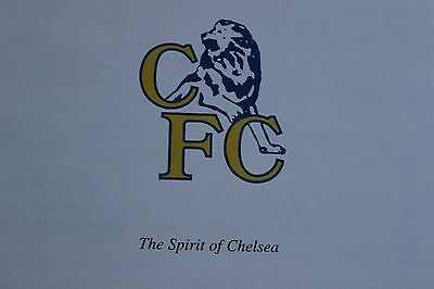 RARE COPY - SPIRIT OF CHELSEA by SIRDAR PRESS - IST EDITION