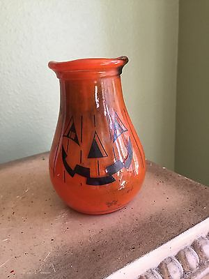 Gemco Glass Pumpkin Candle Holder NYC
