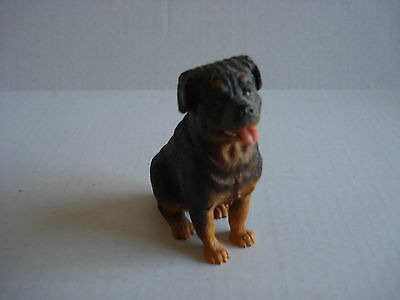 Rottweiler Christmas Ornament, Sitting, Resin, Smiling Face