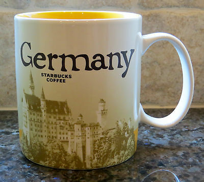 NWT Starbucks GERMANY Global Icon City Collector Series Mug VERSION 2 with SKU