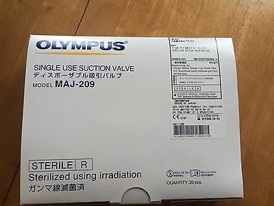 New Olympus Maj-209 Suction Valve Box Of 20