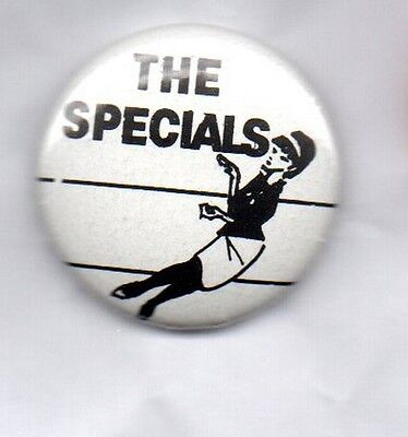 THE SPECIALS -  BUTTON BADGE 2-TONE SKA REVIVAL BAND -  25mm PIN