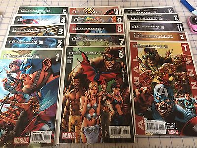 Marvel The Ultimates 2 #1-13, Annuals #1-2, Full Run, Out Of Print OOP, VF-NM