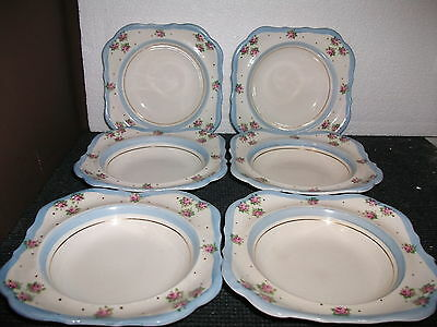 5 x l & sons english ware cereal bowls (lancaster & sons)