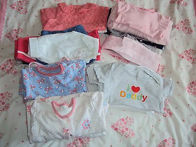 3-6 months baby girls clothes bundle (29pc)