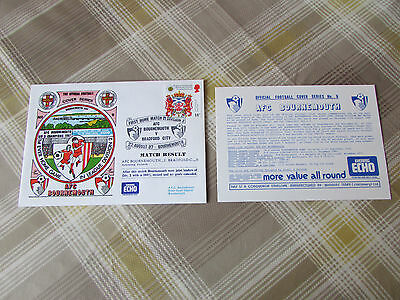 BOURNEMOUTH 1987 First Home Game in Division 2 Official FOOTBALL Series Cover