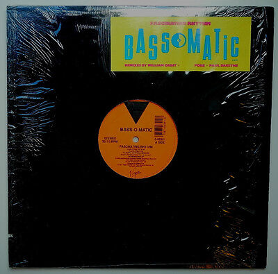 "12"" Us**bassomatic - Fascinating Rhythm (Virgin '91 / Cover Cut-Out)***15692"