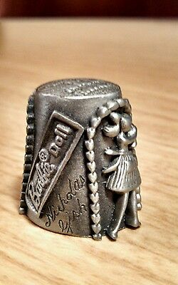 1981 Barbie Thimble By Mattell