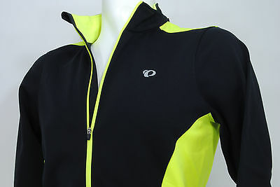 4f9f318ce PEARL iZUMi Select Thermal Long Sleeve Cycling Jersey Black Neon Yellow