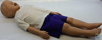 SimulAids Child CPR Manikin Toddler Timmy Water Fillable Caucasian