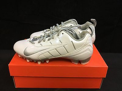 Nike Speedlax III Women's Lacrosse Cleats - White/Metallic Silver Size 7