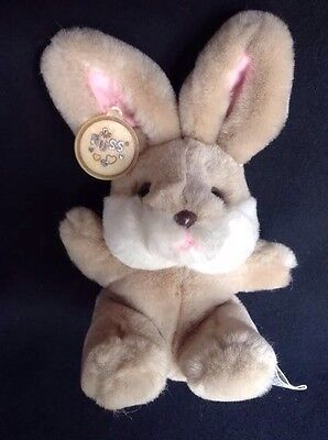 Plush Russ Bunny Caress Soft Pet Rabbit HONEY Small Brown White Cute All Tags