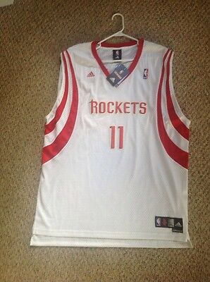 ... yao ming 11 houston rockets nba adidas swingman sewn mens white jersey  xxl nwt f52595193