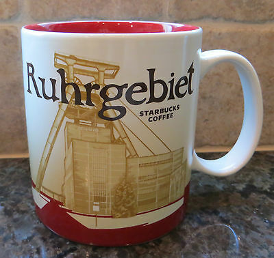 NWT Starbucks RUHRGEBIET Germany Global Icon City Collector Series Mug w/SKU
