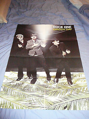 SYSTEM OF A DOWN / GREEN DAY DOUBLE SIDED 22 x 32 POSTER CLIPPING