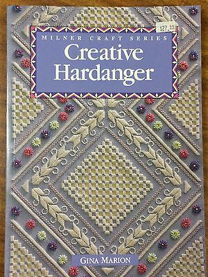 Creative Hardanger by Gina Marion - Milner Craft Series